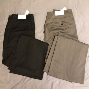 Two pairs of Loft pants